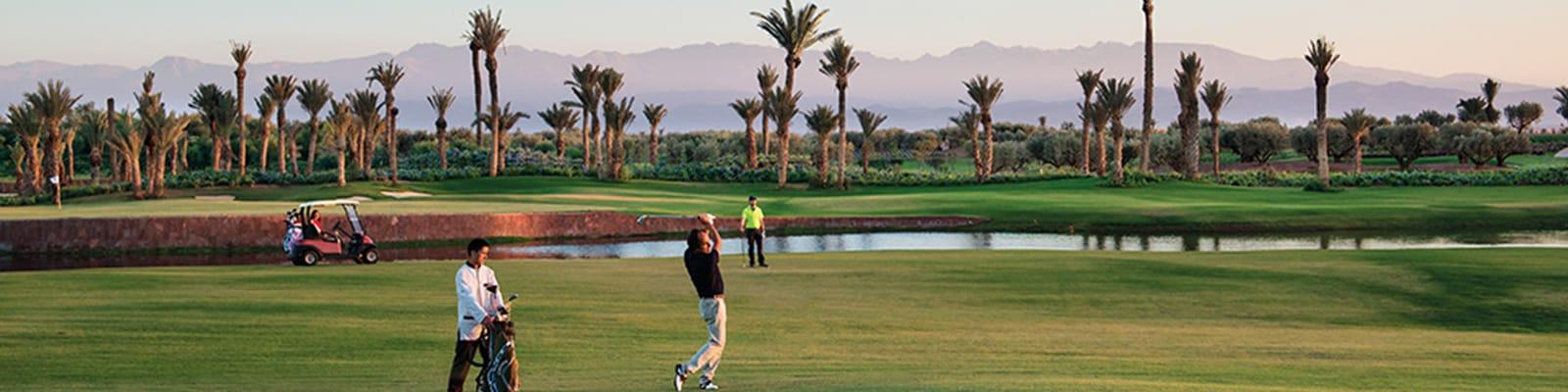 Quels sont les hôtels de luxe sur un golf à Marrakech ?